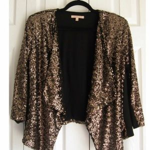 NWT Gibson Latimer sequin Jacket